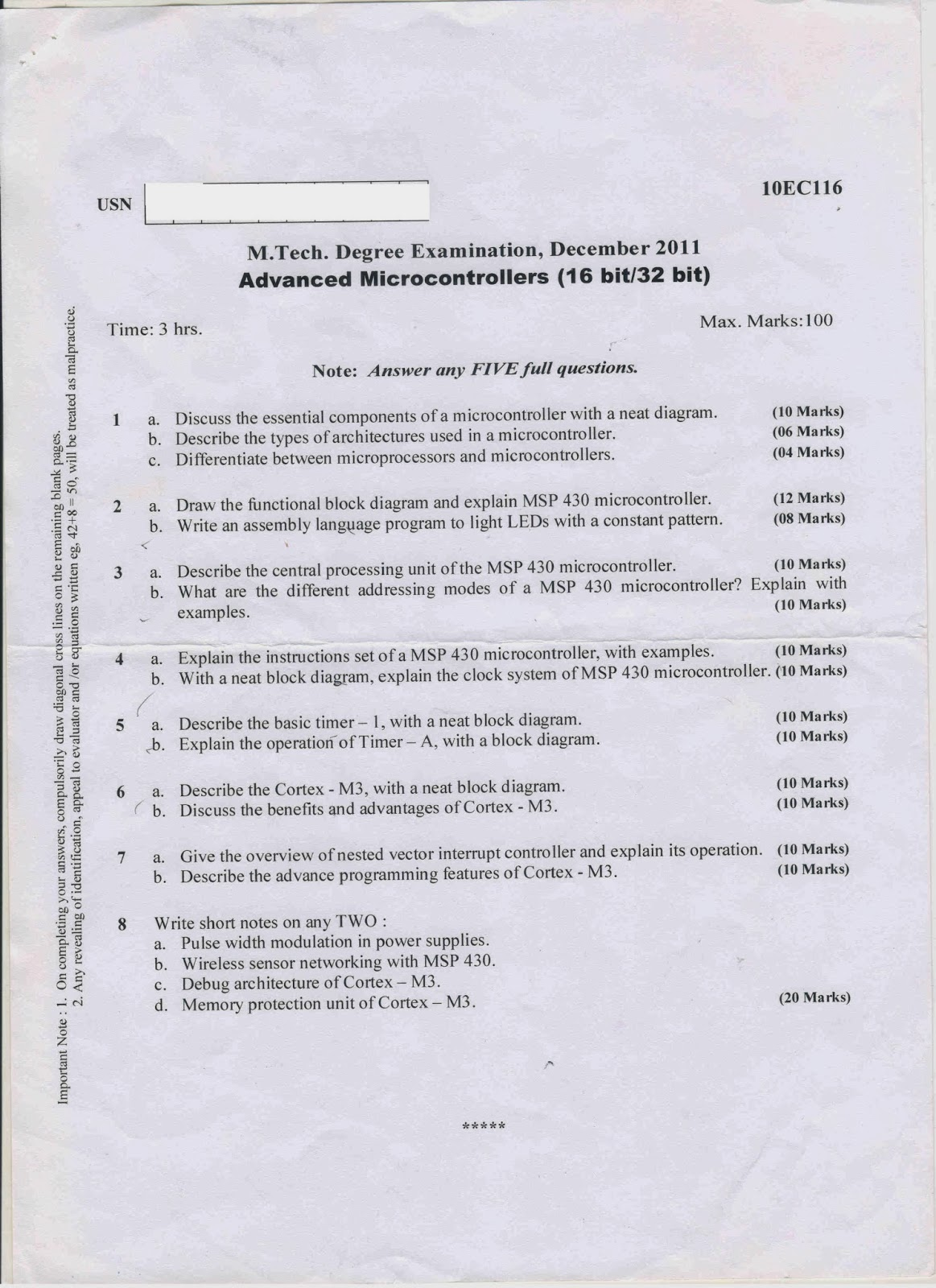 Vtu phd coursework question papers