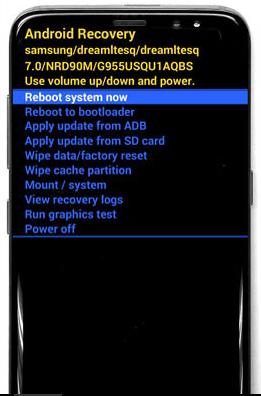 Cómo resetear Samsung Galaxy S8