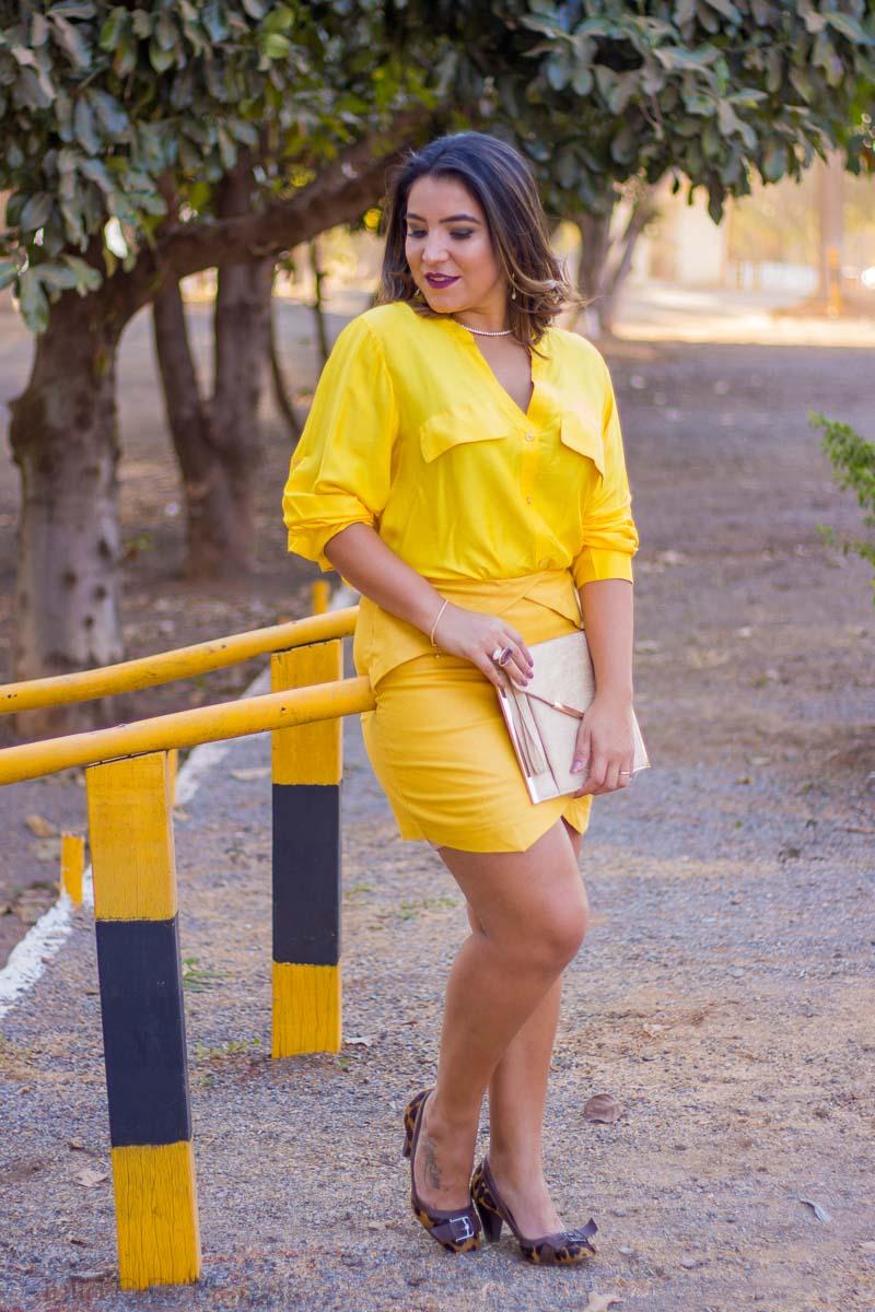 Look do dia {all yellow} e inspirações sobre a mulher contemporânea