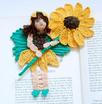 Sunflower Fairy - Handmade Crochet By Lois Anderson of Anderson Creations on Etsy