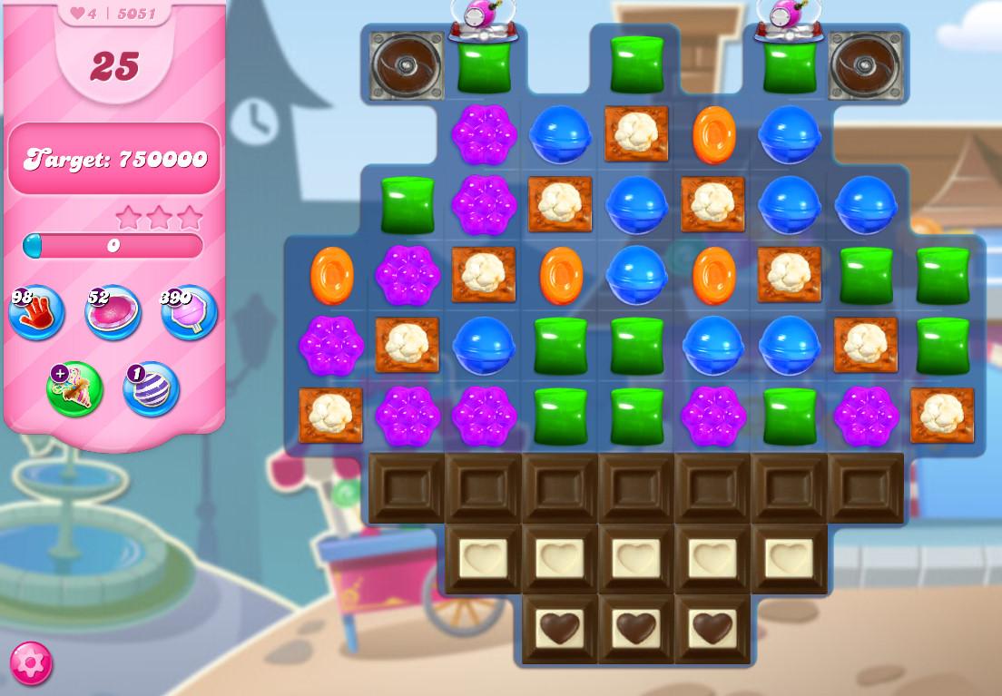 Candy Crush Saga level 5051