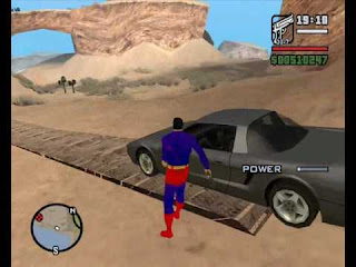 GTA SAN ANDREASE SUPERMAN MOD Cover Photo