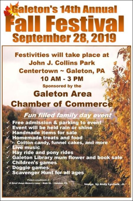 9-28 Fall Festival, Galeton, PA