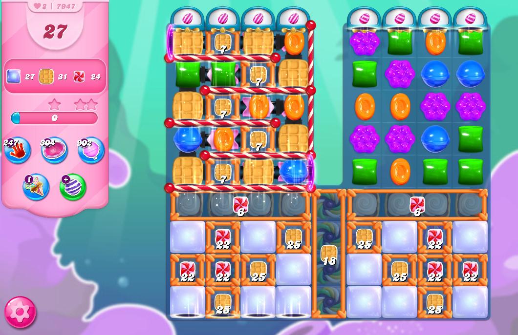 Candy Crush Saga level 7947