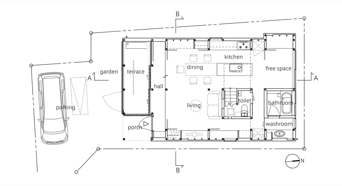 03-Ground-Floor-Plan-Mizuishi-Architects-Atelier-Light-and-Airy-House-in-Japanese-Architecture-www-designstack-co