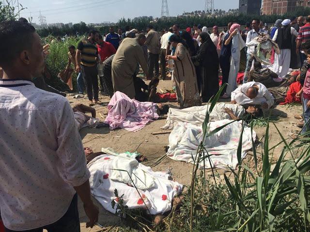 حادثة قطار الأسكندرية اليوم الجمعة