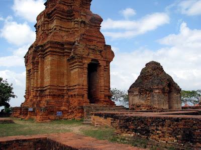Poshanu Cham Tower a Mui Ne (Vietnam)