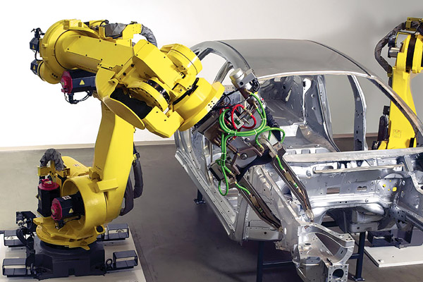 STUAA Automation : The application of FANUC robot in