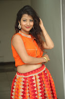 Shubhangi Bant in Orange Lehenga Choli Stunning Beauty ~  Exclusive Celebrities Galleries 050.JPG