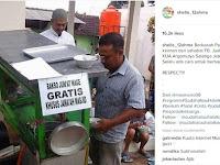 Hebat! Tiap Jumat Wage, Bakso Pak Mul Gratis untuk Jemaah Masjid