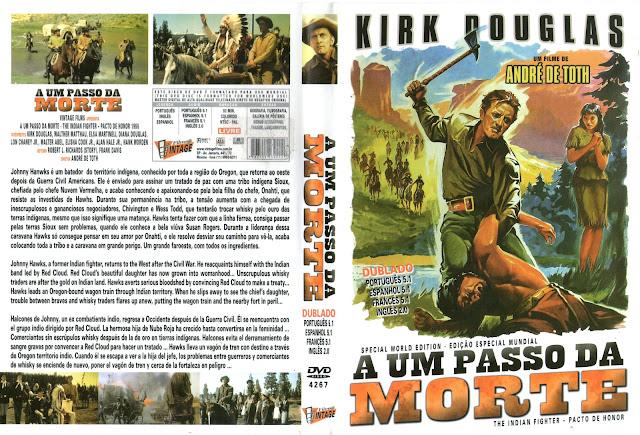 Capa DVD A Um Passo Da Morte