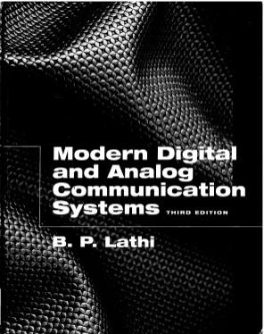 Download Modern Digital And Analog Communication System by B P Lathi Pdf