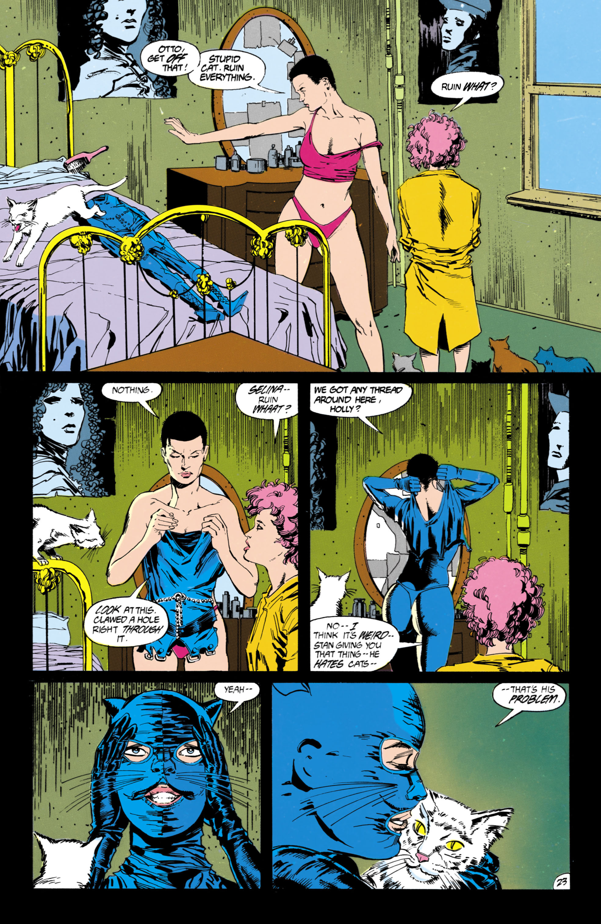 Catwoman (1989) Issue #1 #1 - English 24