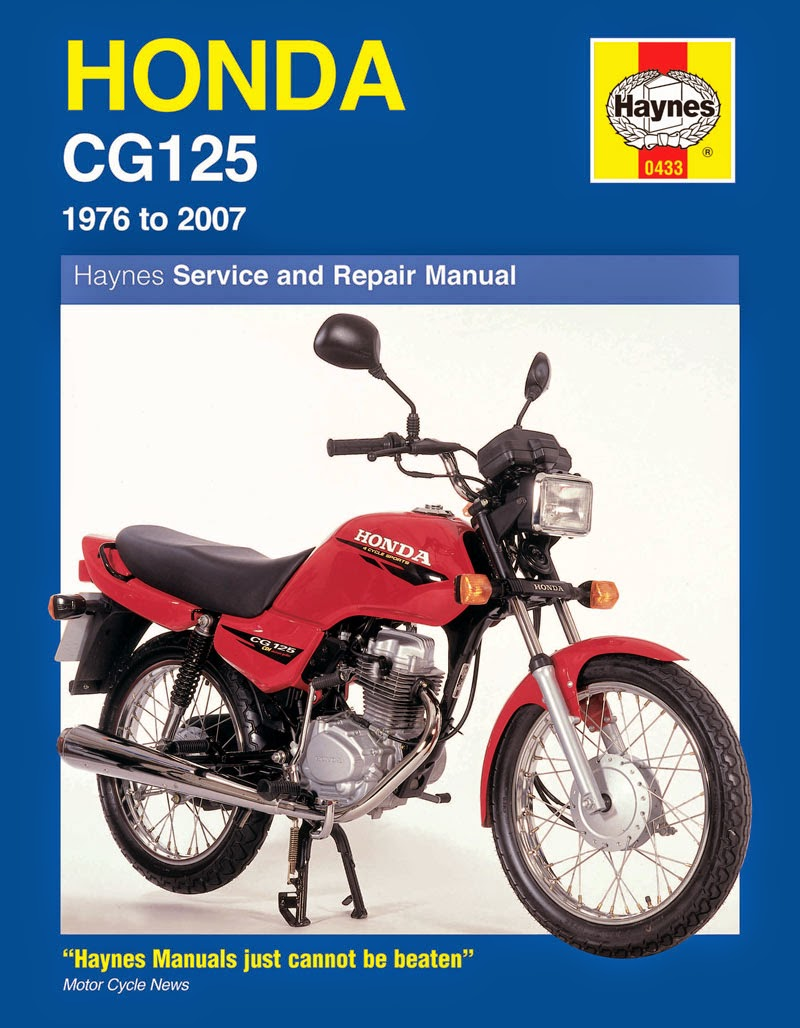 Honda CG 125 wiring diagrams and electrical post