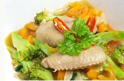cara memasak sop ayam