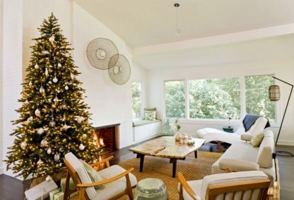 Christmas, Home ,Decoration, Living Room