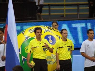 García-Marín (ESP), arbitrarán la final del Mundial de Serbia 2013 | Mundo Handball