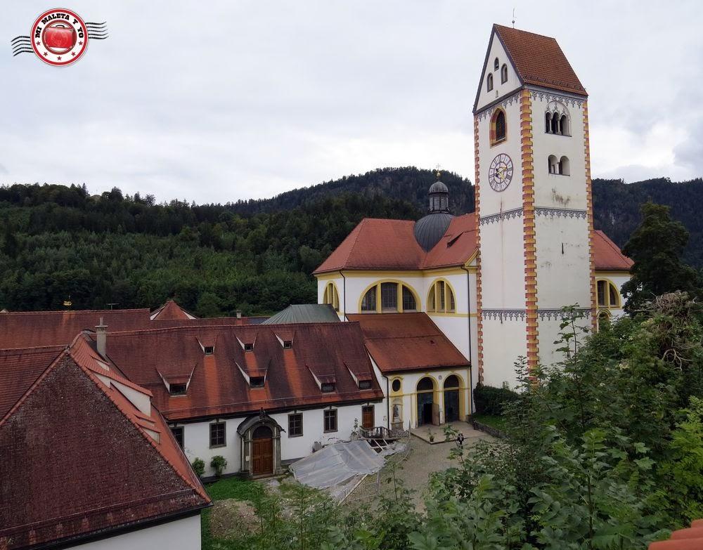 Füssen, Baviera (Monasterio e iglesia de San Magnus)