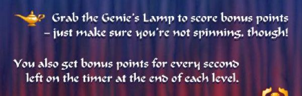 Grab the Genie's Lamp