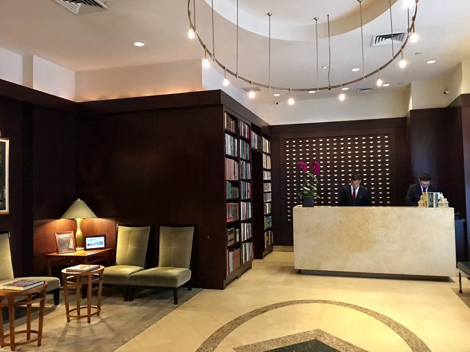 Library Hotel New York Lobby
