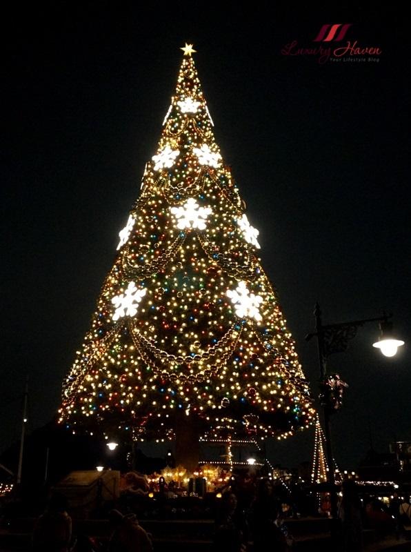 tokyo disneysea 15th anniversary american town christmas tree