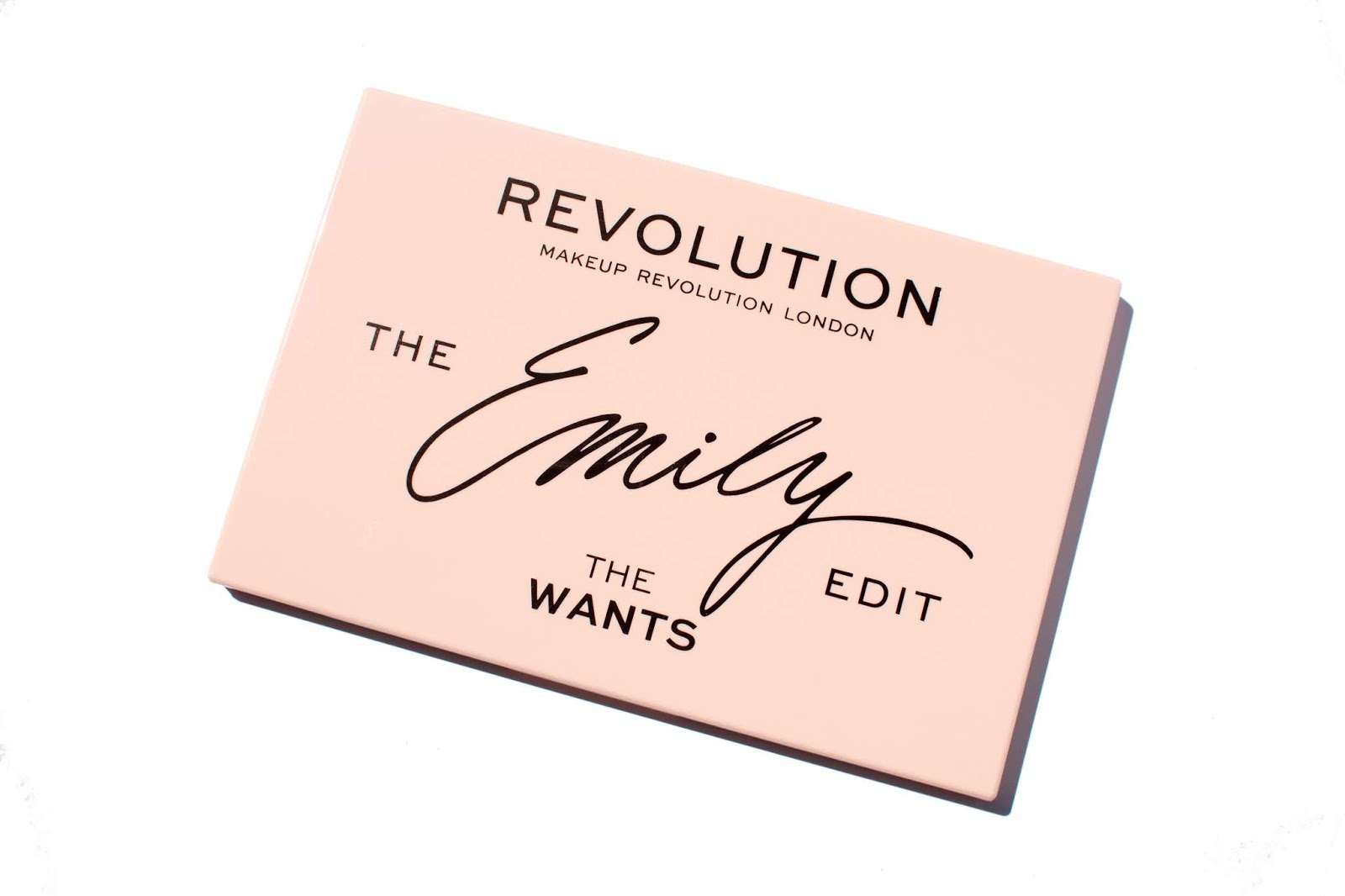 Revolution x The Emily Edit - The Wants Eyeshadow Palette: Swatches, Review