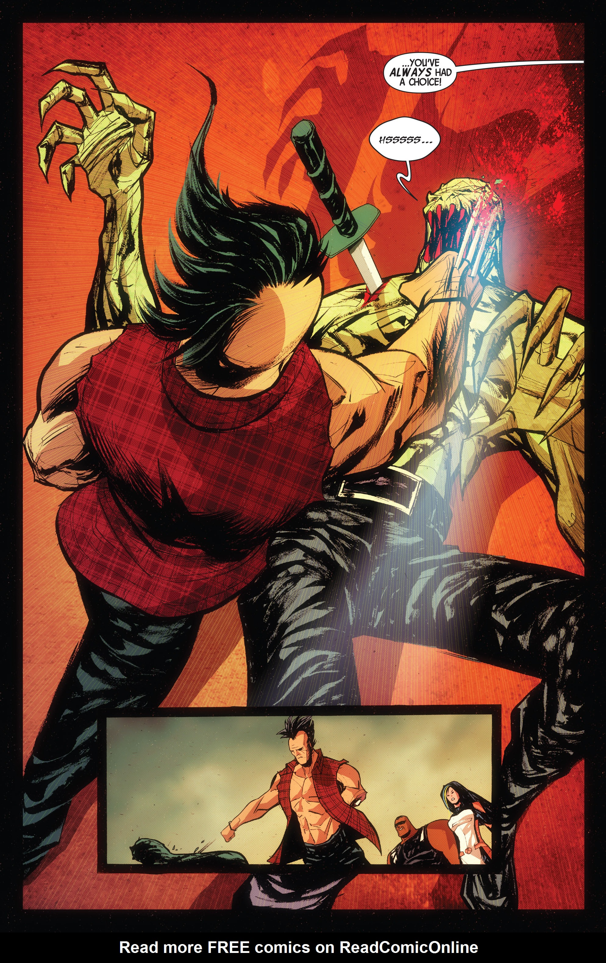 Read online Wolverines comic -  Issue #15 - 14