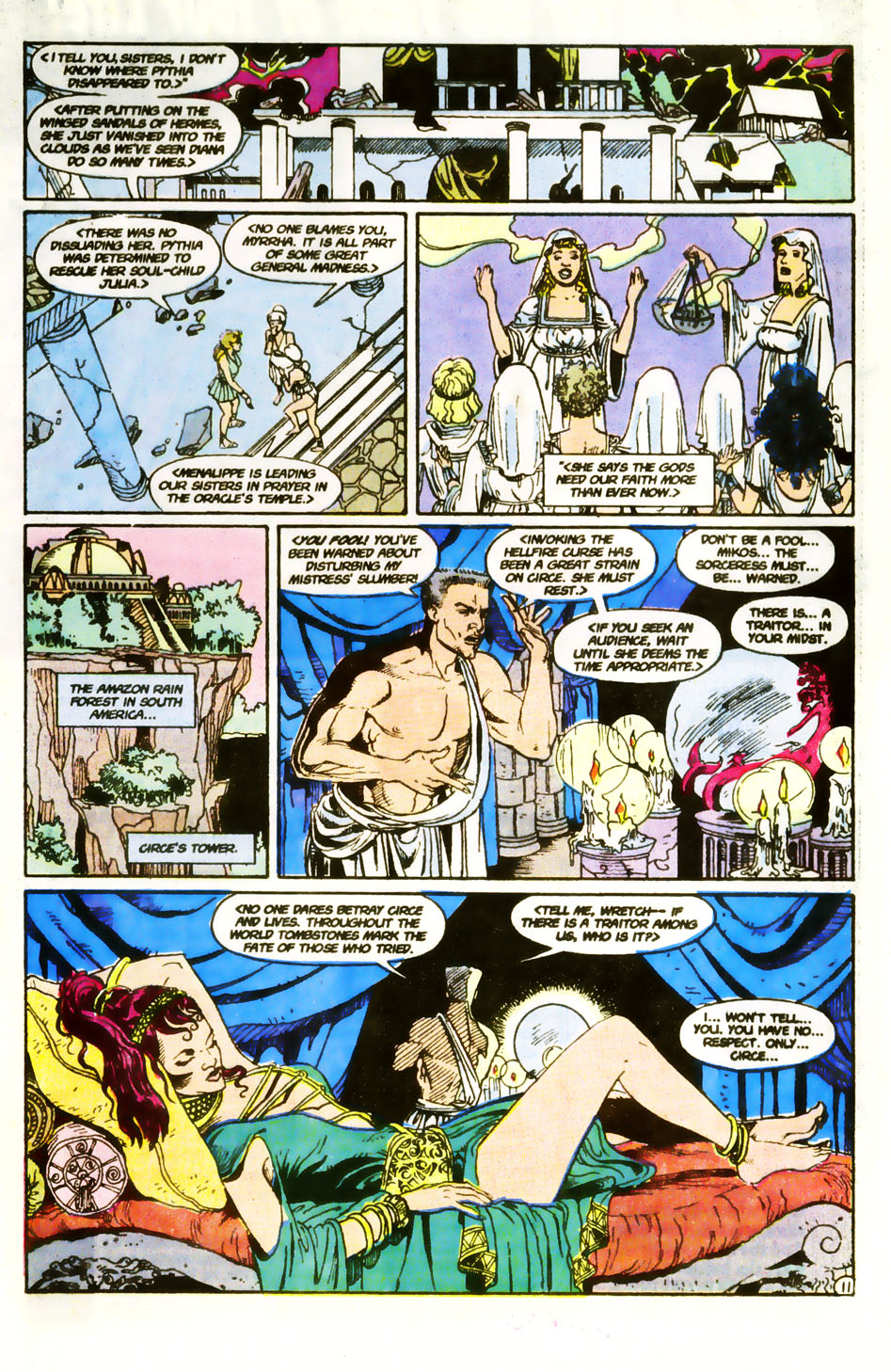 Read online Wonder Woman (1987) comic -  Issue #59 - 13