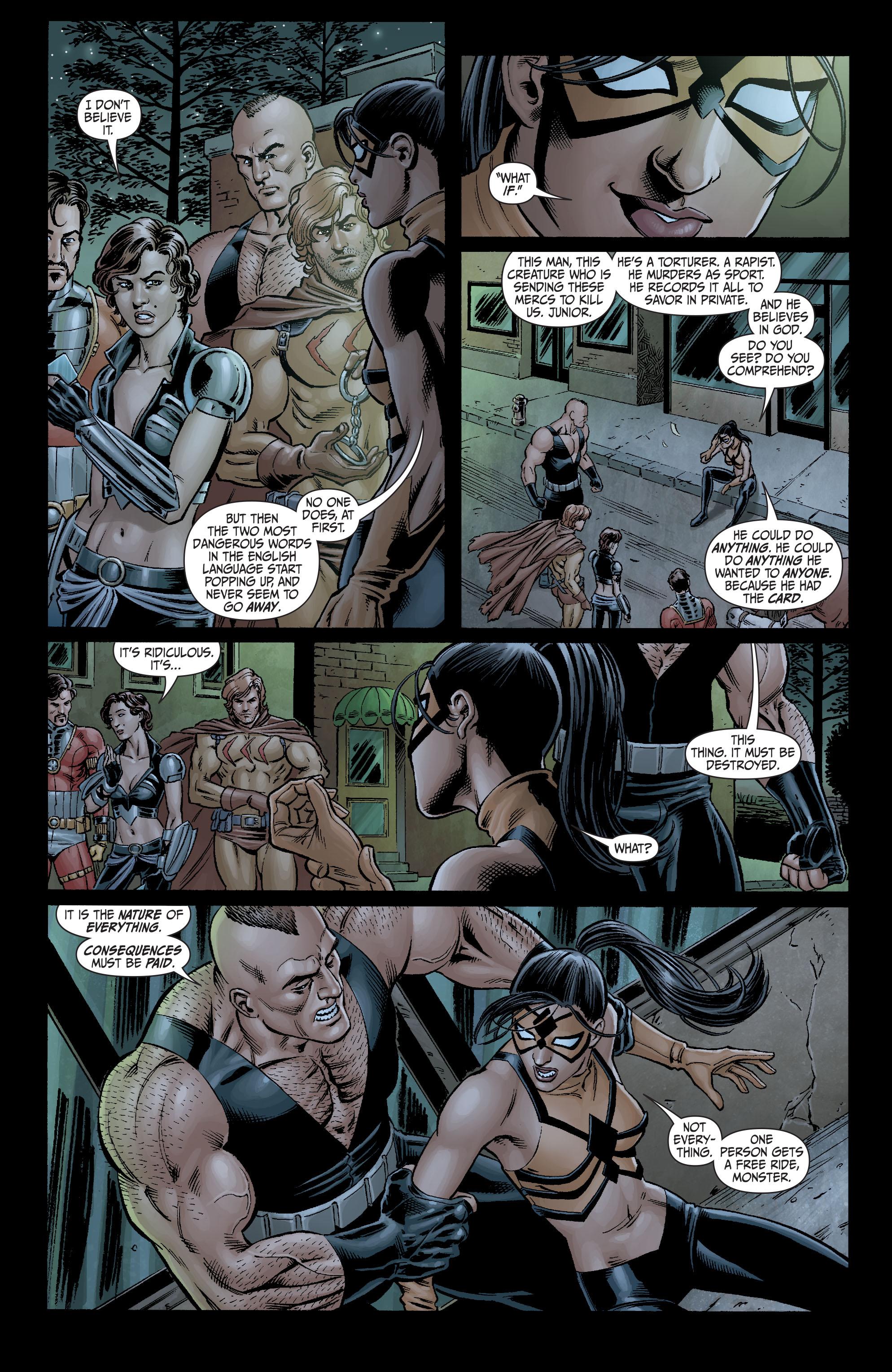 Read online Secret Six (2008) comic -  Issue #4 - 4