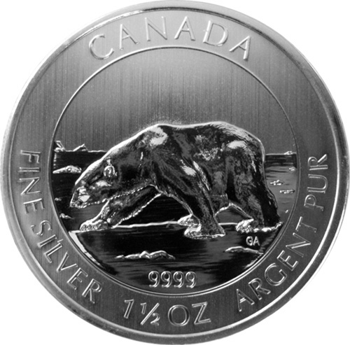 Silver Investment News 1 5 Oz 2013 Canadian Polar Bear