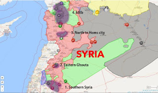 de-escalation zones, syria