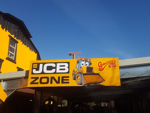 JCB Zone at Gulliver's Land