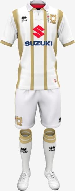 ミルトン・キーンズ・ドンズFC 2018-19 ユニフォーム-ホーム