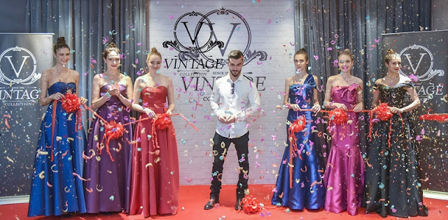 Vintage Collection International Boutique, Vintage Boutique, Sunway Giza Mall, Vintage Collection International, Evening Gown, Buy and Rent Evening Gown, Buy and Rent Evening Gown in KL, Vintage Collection International Fall & Holiday 2018 Collection, Vintage Collection International Fashion Show