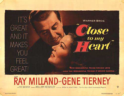 Close to My Heart (1951)