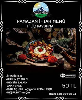 sayrem masalı restaurant kartepe iftar menuleri sayrem kocaeli iftar yapılacak yerler
