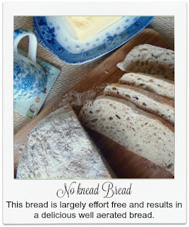 This no knead bread is easy to make, and as the title suggests it requires no kneading!