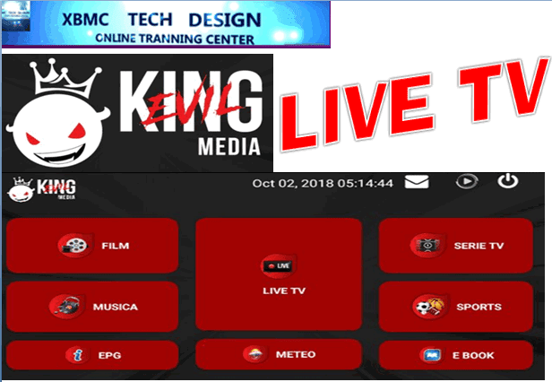 Download KingMediaIPTV APK- FREE (Live) Channel Stream Update(Pro) IPTV Apk For Android Streaming World Live Tv ,TV Shows,Sports,Movie on Android Quick KingMedia5.6 IPTV Beta IPTV APK- FREE (Live) Channel Stream Update(Pro)IPTV Android Apk Watch World Premium Cable Live Channel or TV Shows on Android