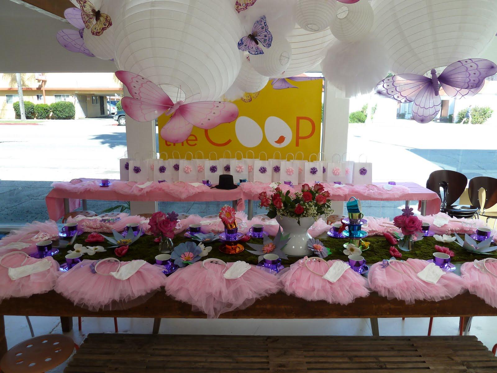The Coop Princess Tea Party