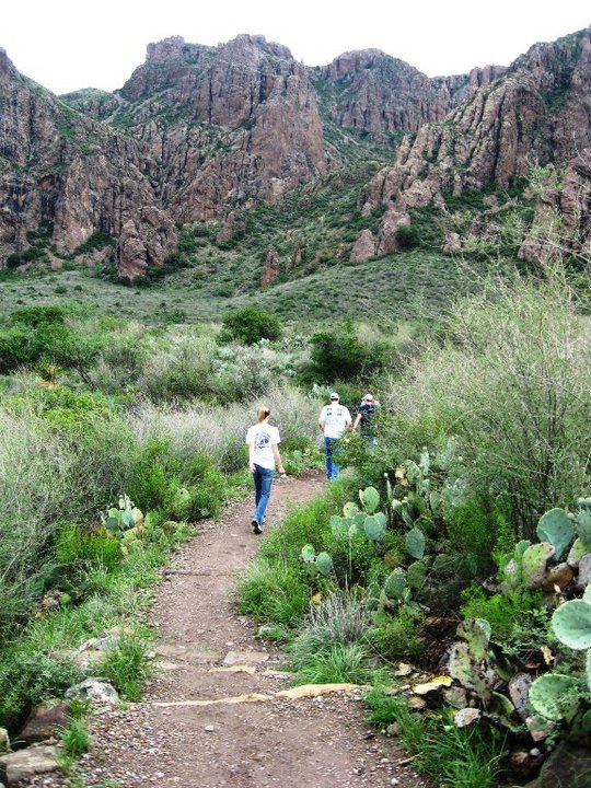 Texas Mountain Trail Daily Photo: Hiking in Big Bend ...