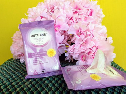 Review Betadine Feminine Wash wipes