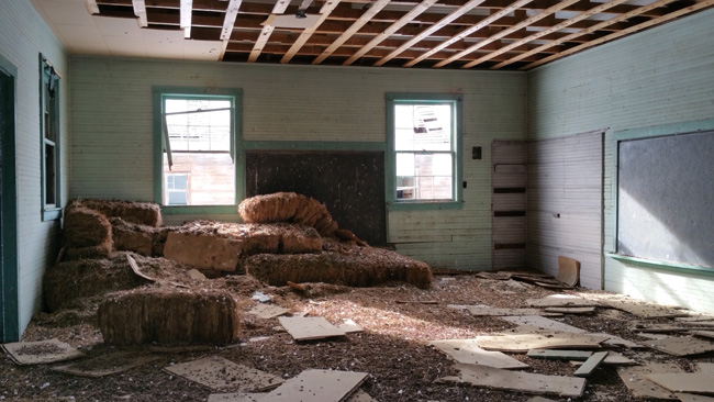 Abandoned Schoolhouse Ruins of Ludlow Colorado Ghost Town