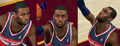 NBA 2K13 John Wall Cyberface Patch