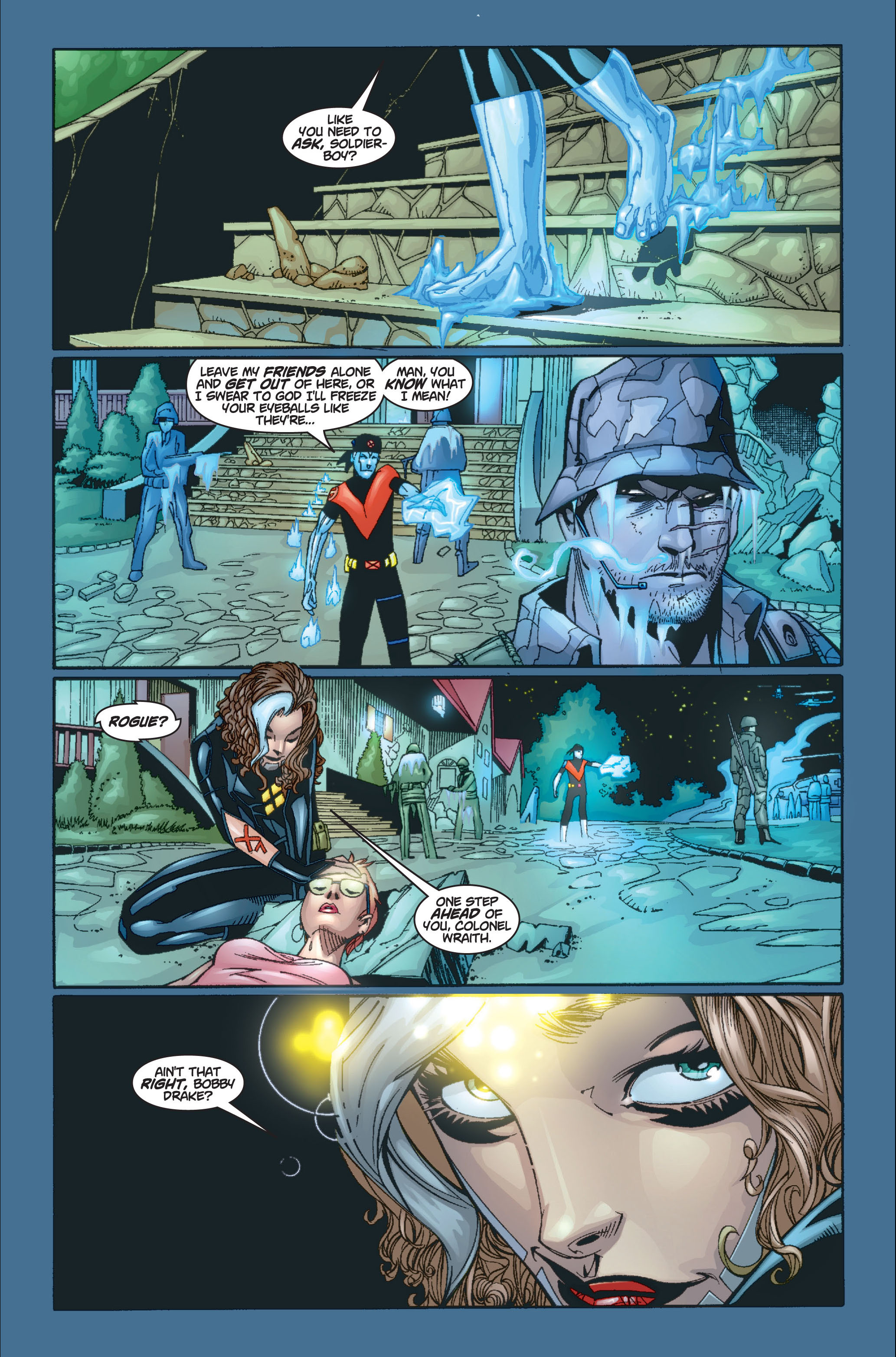 Read online Ultimate X-Men comic -  Issue #8 - 20