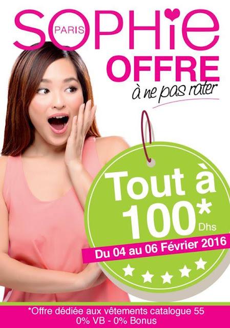 promotion sophie paris fevrier 2016