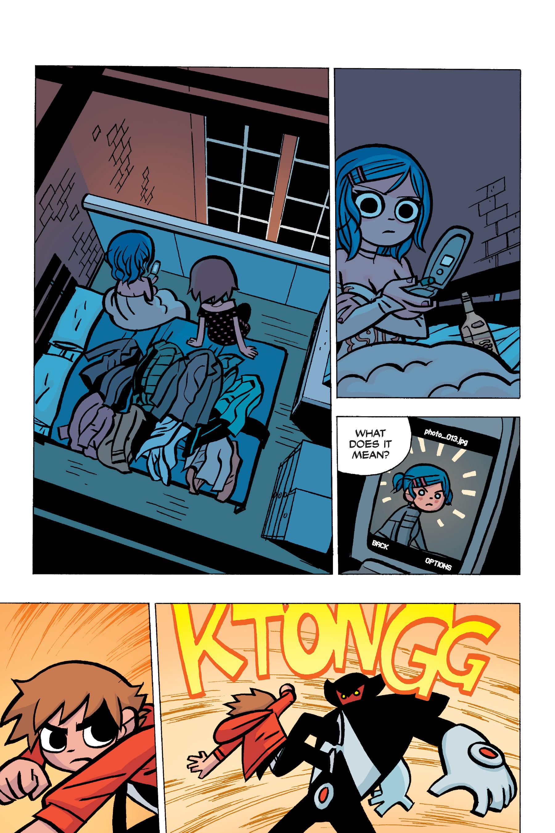 Read online Scott Pilgrim comic -  Issue #5 - 91