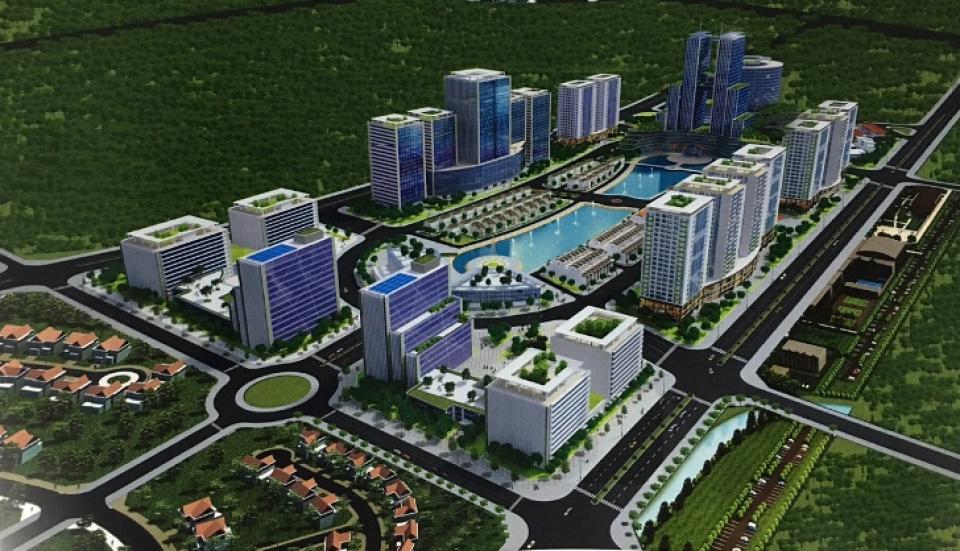 Điều chỉnh quy hoạch chi tiết khu đô thị Công viên Công nghệ phần mềm Hà Nội