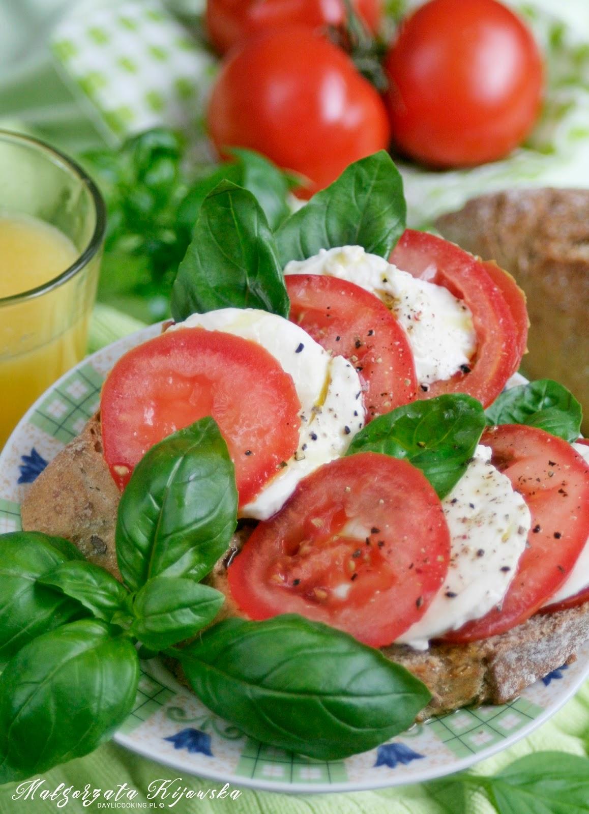 kanapki, śniadanie, kolacja, przekąska, daylicooking, Małgorzata Kijowska