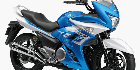 Suzuki Inazuma Full-Fairing Resmi Meluncur