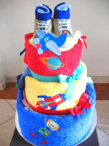 bolo de toalha
